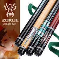 ZOKUE-Palo de billar Carom profesional, 3 almohadillas coreanas, cono de 12mm, punta de 142 cm, arce canadiense selecto