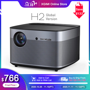 Image 1 - XGIMI H2 Global version DLP Projector 1080P Full HD 1350 Ansi Lumens 3D Projecteur 4K Android Wifi Home Theater Beamer
