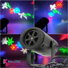 LED Fairy Lights Snowflake LED Moving Head Stage Light Landscape Projector Laser Lamp For Christmas Party Light Garden Outdoor цена 2017