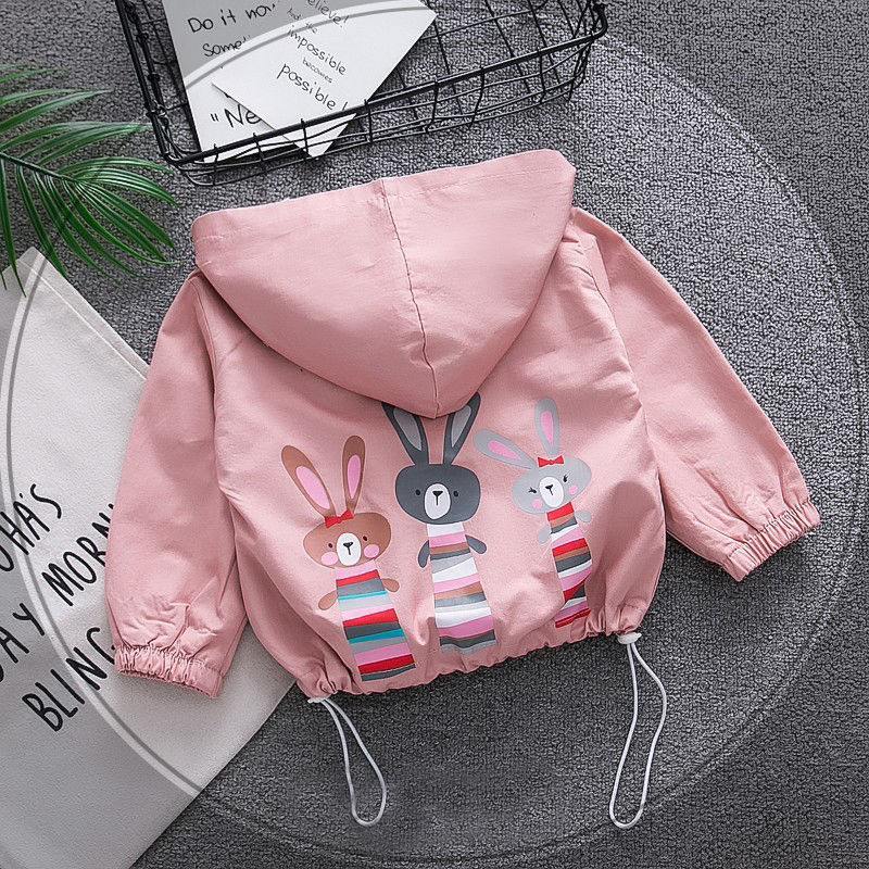 Childrens Wear Girls Webbing Sweater Autumn Section Hooded Pullover Tide