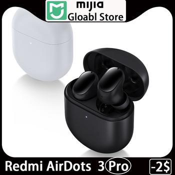 Xiaomi Redmi buds 3 pro AirDots 3 Pro słuchawki douszne Bluetooth TWS z bezprzewodowym ładowaniem Qi aktywne słuchawki z redukcją szumów tanie i dobre opinie NONE Ortodynamiczna CN (pochodzenie) Prawdziwie bezprzewodowe do telefonu komórkowego Sport Słuchawki HiFi instrukcja obsługi