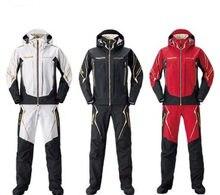 Novo conjunto de roupas de pesca à prova dwaterproof água manga longa GORE-TEX packlite primavera secagem rápida ao ar livre respirável casaco de pesca