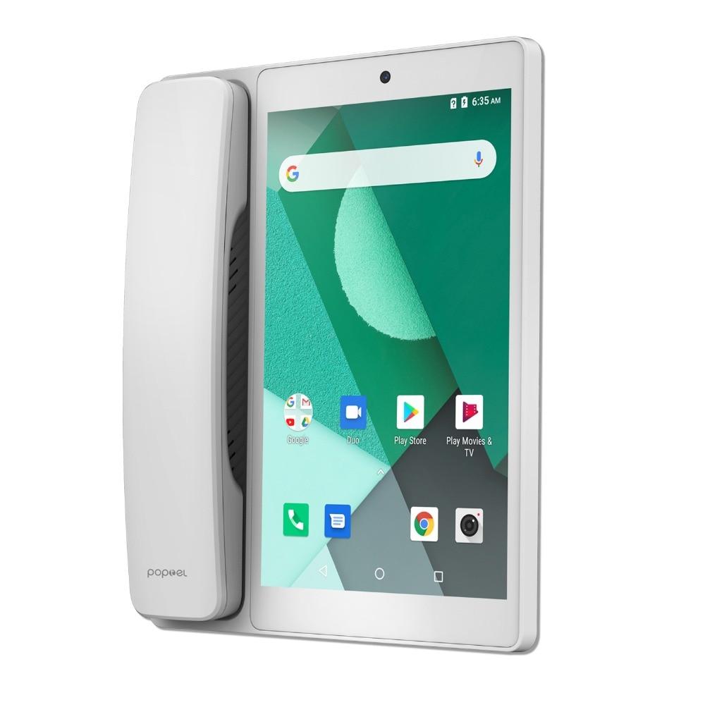 Android LTE fixe sans fil fixe 4G SIM réseau visiophone glob universel personnes âgées WIFI vidéo téléphone portable bureau à domicile - 6
