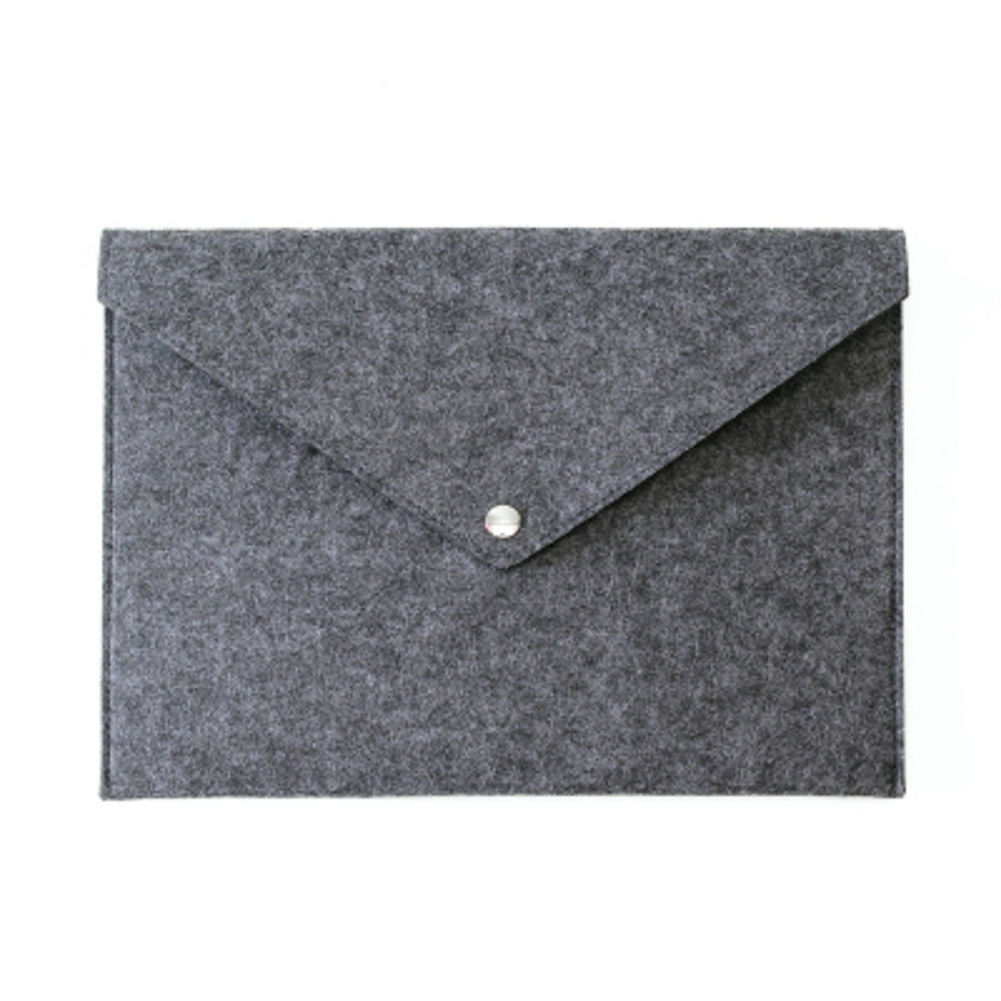 A3 Big Capacity Simple A4 Big Capacity Document Bag Pad Business Briefcase File Folders Chemical Felt Filing Products