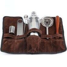 Top-550Ml шейкер из нержавеющей стали, барменный набор, барменный набор, Миксер для мартини, Бостонский шейкер, вечерние барные инструменты
