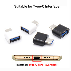 Image 5 - 100Pcs Wholesale Mini USB Type C OTG Adapter for Samsung Xiaomi Huawei OTG Data Converter for MacBook Tablet Android Connector
