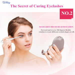 Image 5 - Tinwong Electric Eyelash Curler USB Rechargeable Ceramic Inner Core Heated Long Lasting