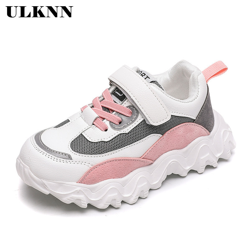 ULKNN  Mesh Girls Sneakers For Children Casual Shoes Kids Sneakers Boys Shoes Running Footwear School Trainers Sapato Infantil