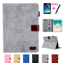 """Dla iPad 7th 10.2 """"Case 2019 A2198 z uchwytem na kartę regulacja obudowa z podstawką dla iPad 10.2 A2200 A2232 Case + Screen Protector + pen"""