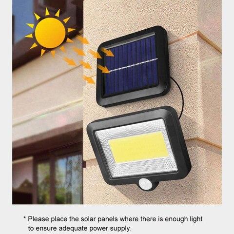 luzes solares ao ar livre led impermeavel lampada de parede decorativa quintal luzes garagem jardim