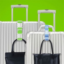 Luggage Suitcase bags hang buckle Portable Travel hanging Belt Anti-lost Clip Add-a-Bag strap 872409