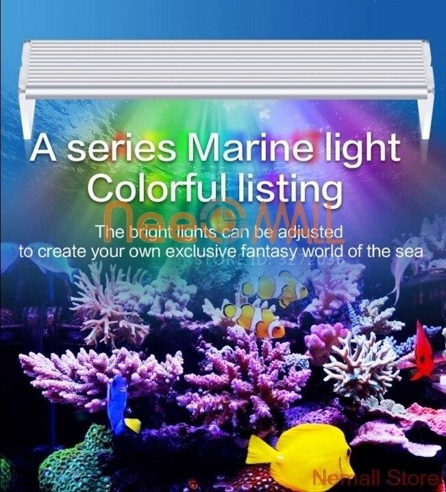 Chihiros acuario marino LED iluminación lámpara luz acuario mar arrecife Coral azul blanco y brillo Color ajustable Led Medusa luz de noche hogar Decoración de acuario lámpara de noche creativa atmósfera luces moda profesional hermosa