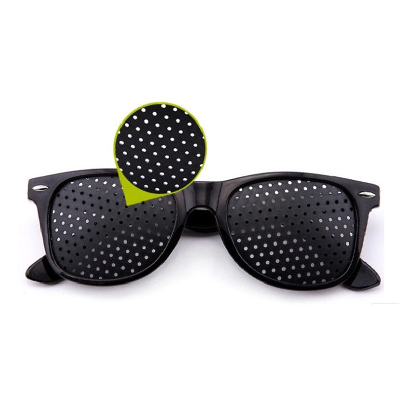 Anti Fatigue Goggles Small Hole Prevention Of Myopia Eyewear Protective Glasses Eyesight Corrected Spectacles Astigmatism
