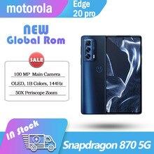 NEW Global Rom motorola Edge S Pro 5G smartphone Snapdragon 870 108 MP Main Camera 6.7'' OLED 144Hz  NFC Cellphone 6GB 128GB NEW