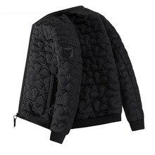 2020 novo inverno casaco de algodão jaqueta masculina jaqueta masculina jaqueta de algodão jaqueta de pelúcia engrossado uniforme beisebol gordura masculina 8xl
