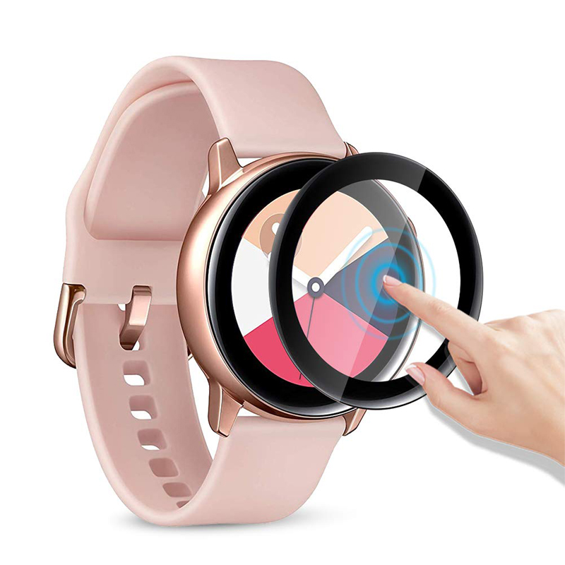watch accessories for Samsung Galaxy Watch Active 2 44mm 40mm Gear S3/S2 Full screen film Polymer Explosion-proof HD Anti-shock