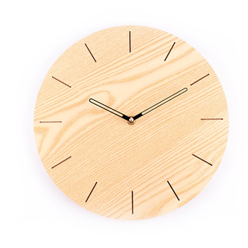 Large Nordic Bedroom Wall Clock Wood Modern Design Watches For Kitchen Living Room Watch Wood Wall Clocks Home Decor New II50BGZ