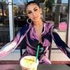 Hugcitar 2019 long sleeve tie tye V-neck sexy midi dress autumn winter women streetwear Christmas party outfits 2