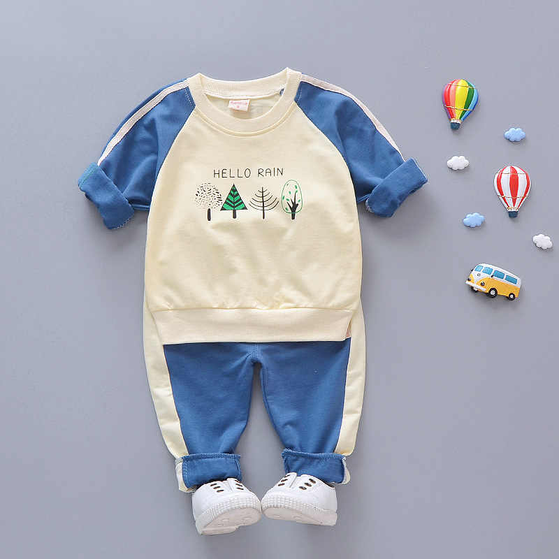 Комплект одежды для мальчиков и девочек новая весенне осенняя Повседневная