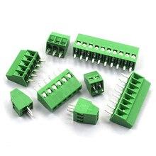 Screw-Terminal-Block Splice 10pcs PCB KF128 2p 3p 4p 5p 6p 8p
