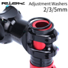 RISK 2/3/5mm Adjustment Aluminum Alloy Bike Bicycle Fork Washer  Stem Headset Spacers Raise Handlebar Ring Cycling Accessory