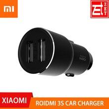 Автомобильное зарядное устройство ROIDMI 3S, 100% оригинал, bluetooth, музыкальный плеер, 5 В, 3,4 А, FM, умное приложение для iPhone и Android, умное управление, ...