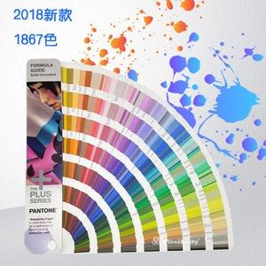 Image 2 - Gratis Verzending 1867 Solid Pantone Plus Series Formule Kleur Gids Chip Schaduw Boek Solid Ongecoat Alleen GP1601N 2016 + 112 kleur