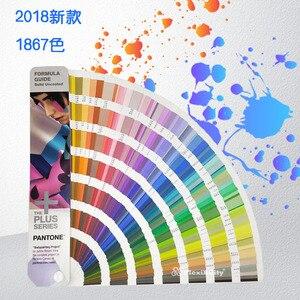 Image 2 - Livraison gratuite 1867 solide série Pantone Plus formule Guide de couleur puce ombre livre solide non couché seulement GP1601N 2016 + 112 couleur