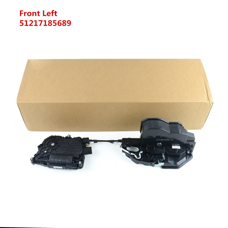 AP03 yeni 51 21 7 185 689, 51217185689 BMW için F01 F02 F04 F10 ön sol kapı kilidi mekanizması ve Motor aktüatör
