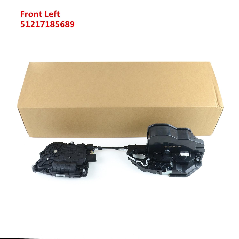 Ap03 novo 51 21 7 185 689, 51217185689 para bmw f01 f02 f04 f10 frente esquerda mecanismo de bloqueio da porta & atuador do motor