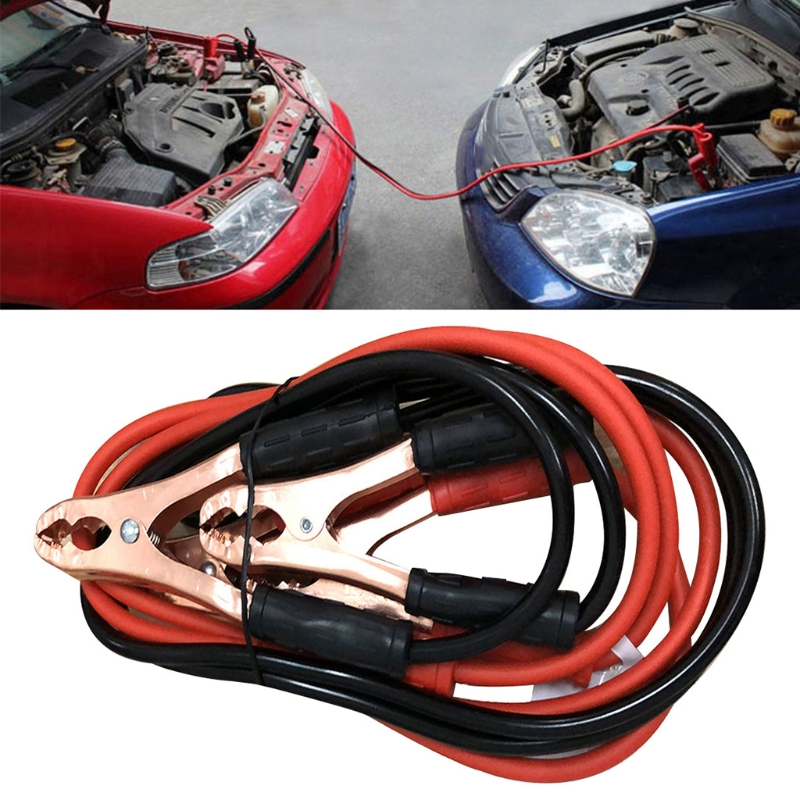 3 Meters 500A Car Power Charging Booster Cable Alligator Clamp Battery Jumper Wires Car Emergency Accessories Auto Parts R2LC