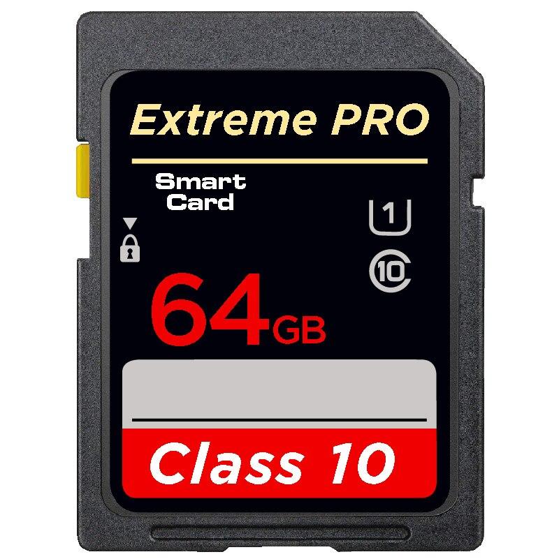 Hot sale SD Memory Card 32GB 16GB 8GB 128gb SDHC Card SD 64GB SDXC Card Flash For Digital Camera Camcorder DV