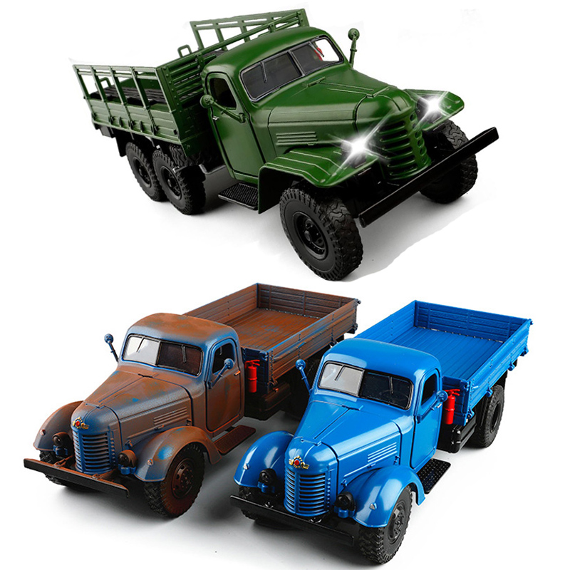 3 Colors 1/32 High Simulation SUV Truck Diecast Model Car SUV Vehicle Toys For Sound Lighting Pull Back Gifts V138