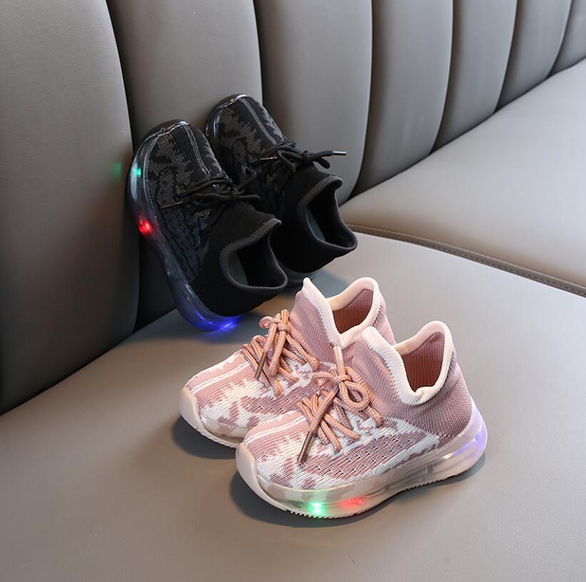 LED Mesh Breathable Sport Run Sneakers 2