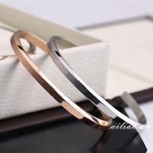 2019 New Luxury Design Stainless Steel Bracelets & Bangles Men Women Love Fit DW Bracelets Gift