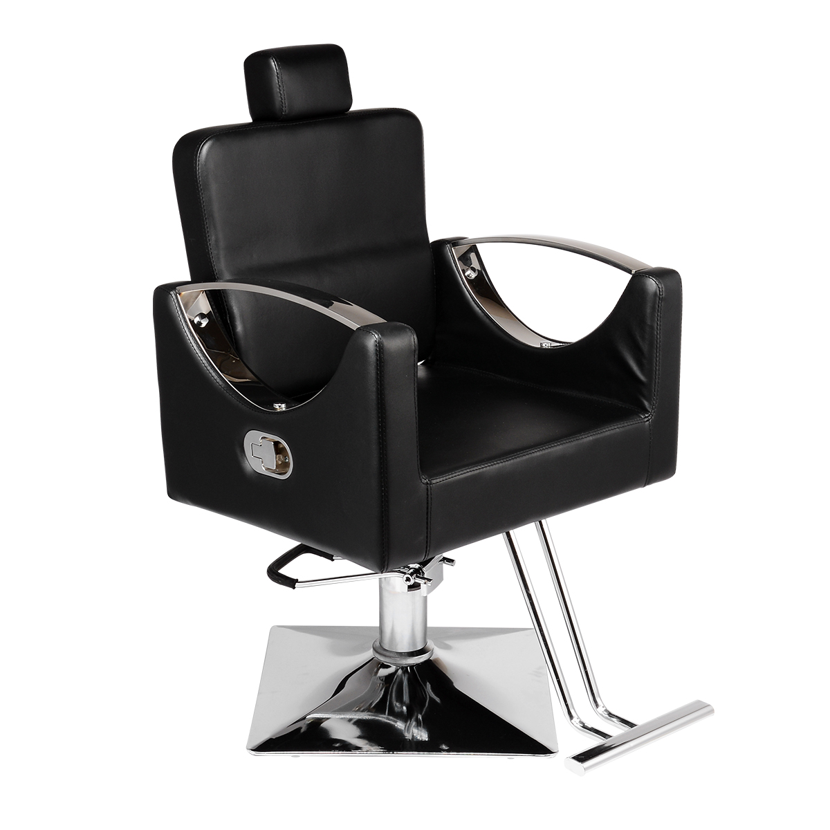 Barber Chair High Quality PU Leather Adjustable Hydraulic Reclining Barber Hairdressing Chair Beauty Salon Barbershop Chair