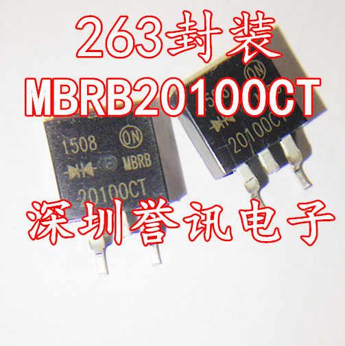 100% yeni orijinal B20200 B20200AKA MBRB20200CT TO263