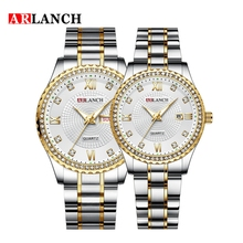 ARLANCH Brand Luxury Lover Watches Quartz Calendar Dress Wom
