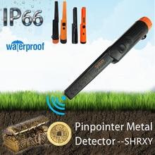 upgrade Sensitive Metal Detector Pro Pinpoint GP-pointer Waterproof Pinpointing Gold Digger Garden Detecting portable handheld metal detector high sensitive mini gp pointer pinpointer with led flashlight and bracelet