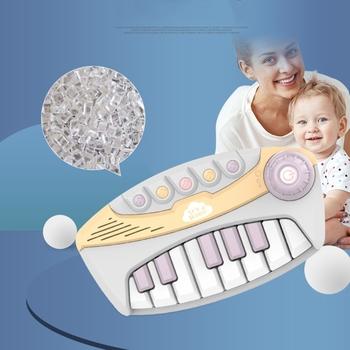 Wczesne dzieciństwo zabawki edukacyjne dla dzieci pianino elektroniczne oświecenie muzyka matka i zabawki dla dzieci tanie i dobre opinie OOTDTY CN (pochodzenie) 7-12m 13-24m 25-36m 4-6y Z tworzywa sztucznego