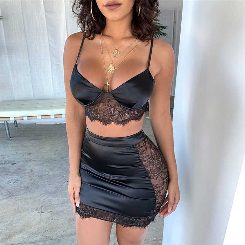 Nattemaid Sexy Kant Patchwork Wit Bodycon Vrouwen Jurk Hollow Out Party Dress Streetwear Zomer Jurk Kleding Vestidos 2019