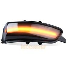 Dynamische Blinker Für Volvo S60 ICH C30 S40 S80 II V70 S40 II V50 2007 2008 2009 2010 LED Drehen signal Licht Seite Spiegel Lampe pfeil