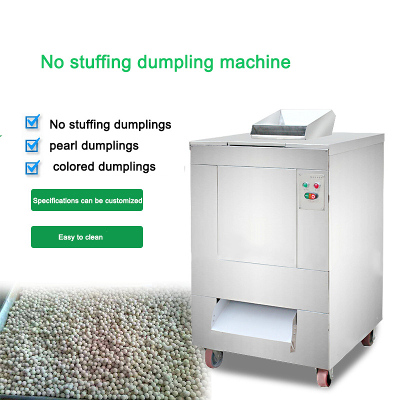 50-80kg/h Automatic Pearl Soup Round Machine VFD-1000 No Stuffing Dessert Food Processor Commercial Tangyuan Maker 220V/380V