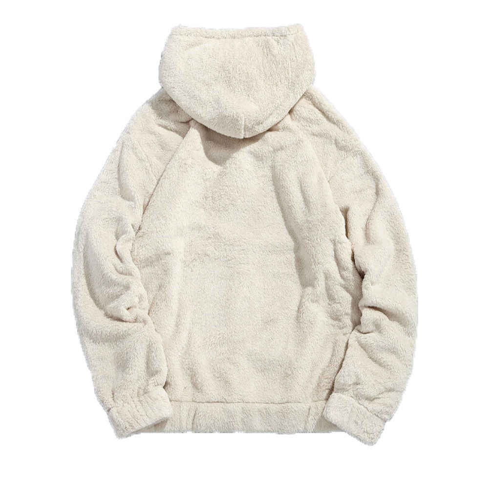 2020 übergroßen Freund Hoodies Frauen Männer Fleece Mit Kapuze Sweatshirt Mantel Hoodie Blank Pullover Beiläufige Lose Pullover Tops Winter