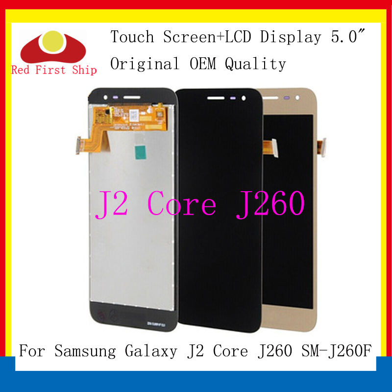 10Pcs/lot 5 for Samsung Galaxy J2 Core J260 LCD Display Screen Touch Digitizer Assembly Replace For samsung lcd
