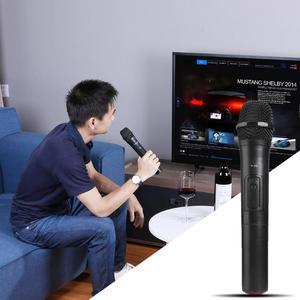 Image 5 - ワイヤレスマイクメガホンハンドヘルドマイク用のusbレシーバーとカラオケ音声スピーカーオーディオマイクマイクキット