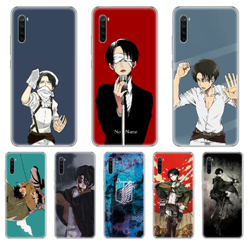 Attack on Titan Levi Rival Phone Case cover For xiaomi Redmi 3S 4A 5A 6A 5 Plus 4X 7 8 8a CC9 K20 Pro K30 transparent coque image