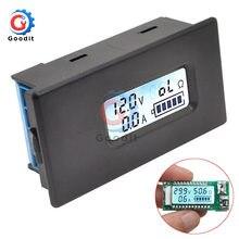Medidor probador de batería de litio, medidor probador de voltaje de luz trasera, capacidad, corriente, resistencia de carga con funda, LED Digital 18650 26650