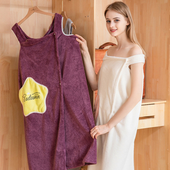 A bath towel suitable for wearing 6