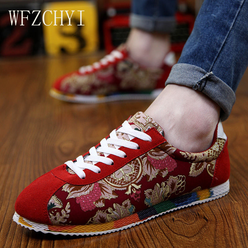 Image 3 - Летняя мужская парусиновая обувь в китайском стиле; Модные дышащие Эспадрильи на плоской подошве; модная мужская повседневная обувь для вождения; кроссовкиПовседневная обувь   -